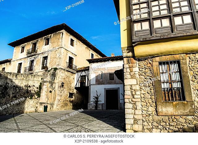 Village of Llanes, Asturias, Spain
