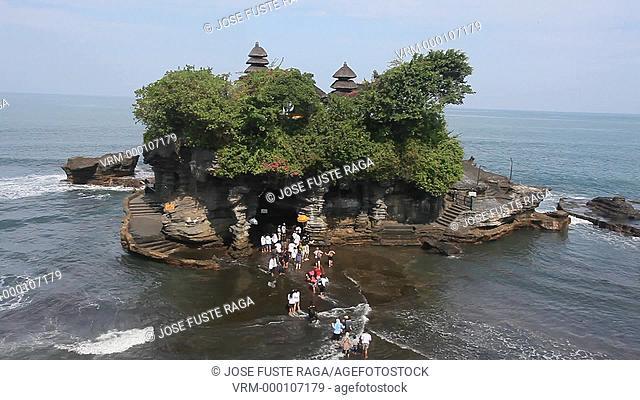 Indonesia, Bali Island, Tanah Lot Island Temple