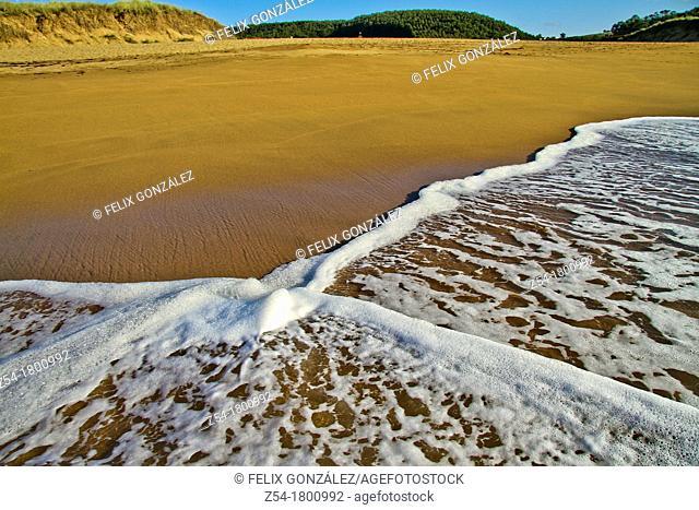 Verdicio beach, Asturias, Spain