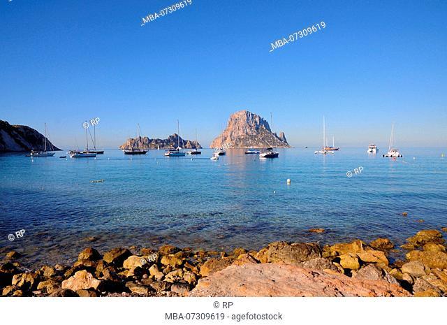 Superyacht, Ibiza, Spain, Es Vedra