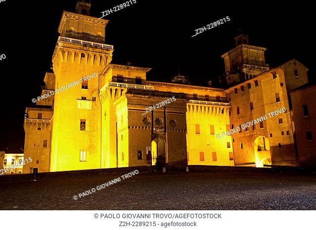 Castello Estense, Ferrara, Emilia Romagna, Italy