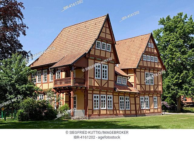 Das Schlösschen, castle, French Garden, Celle, Lower Saxony, Germany