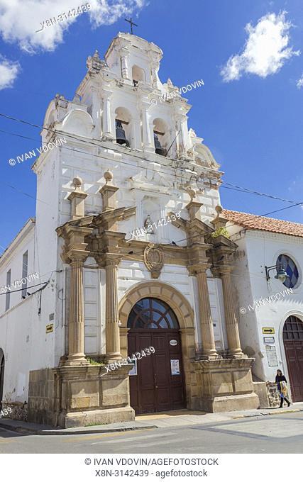 San Miguel church, Sucre, Chuquisaca department, Bolivia