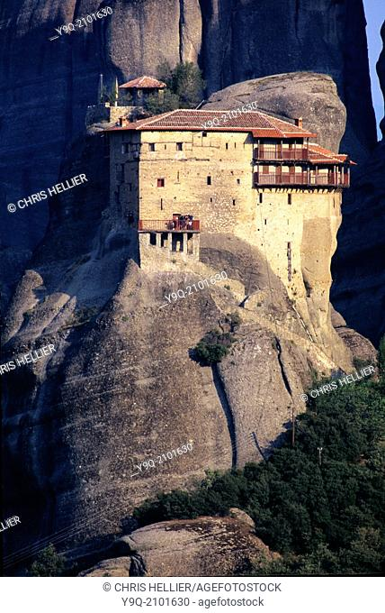 Holy Monastery of Saint Nicholas Anapausas Meteora Thessaly Greece