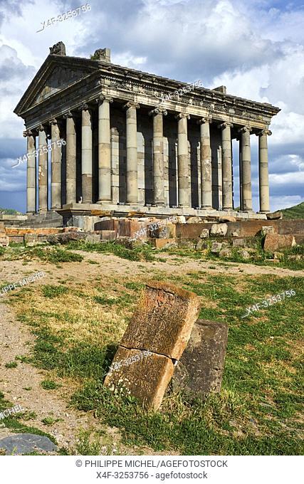 Armenie, province de Kotayk, Temple de Garni / Armenia, Kotayk province, Garni temple