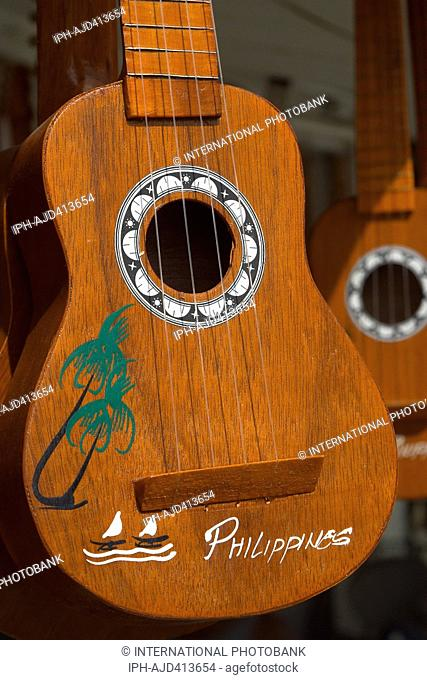 Philippines Cebu Mactan Island Mactan City Guitars for sale. Cebu is famous for it's guitar making industry Adrian Baker