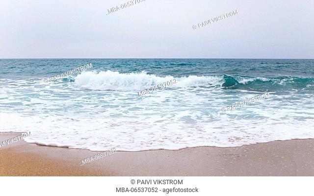 Adriatic Sea waves, Montenegro