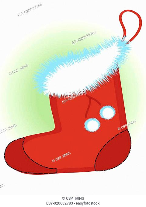 Santa's shoe