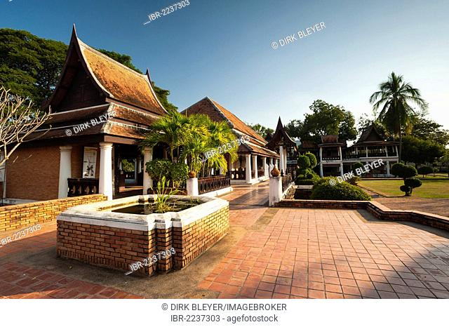 Archaeological centre, Sukhothai Historical Park, UNESCO World Heritage site, Northern Thailand, Thailand, Asia