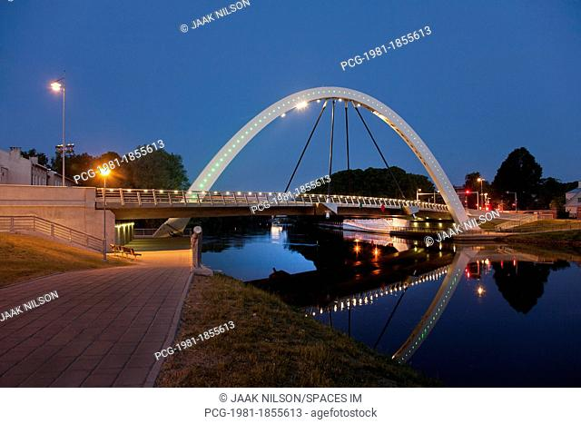 Estonian Bridge and Archway