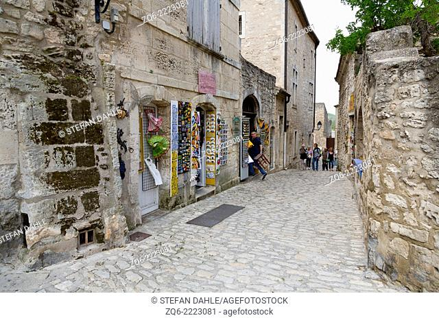 Street View in Les Beaux, Provence, France
