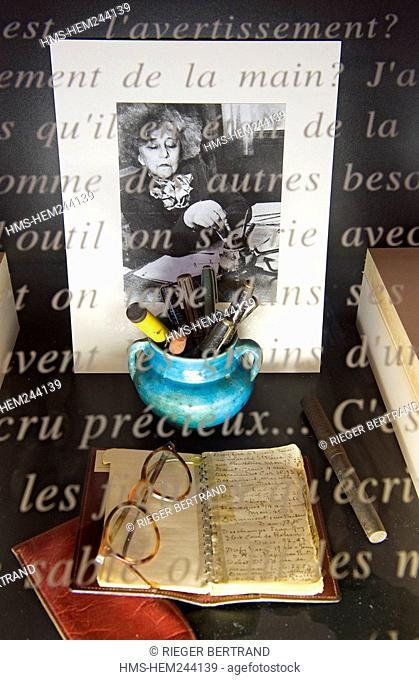France, Yonne, Saint Sauveur en Puisaye, Colette museum