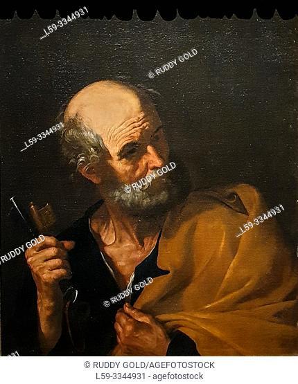 'Saint Peter', 1616/20, Jusepe de Ribera (1591-1652)