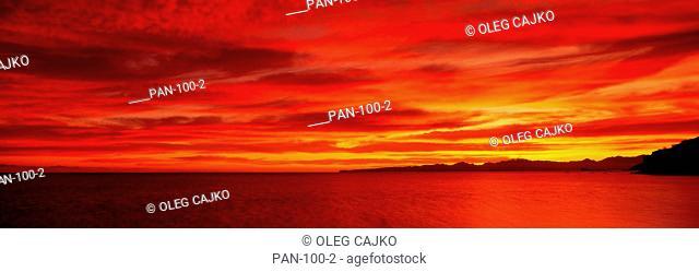 Sunrise at Mulege, Baja California, Mexico