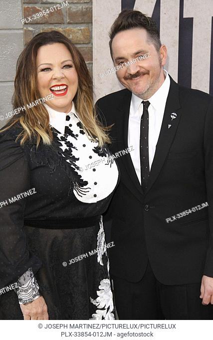 "Melissa McCarthy, Ben Falcone at Warner Bros. Pictures' """"The Kitchen"""" Premiere held at the TCL Chinese Theatre, Los Angeles, CA, August 5, 2019"