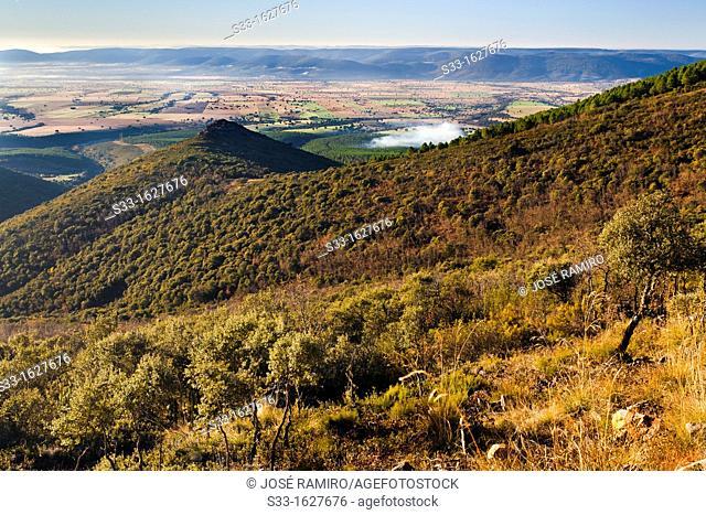 The Riscal  Montes de Toledo  El Robledillo  Castilla la Mancha  Spain