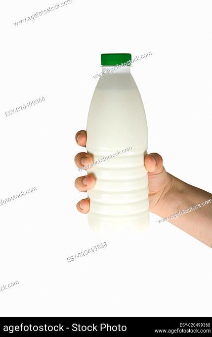 bottle of milk
