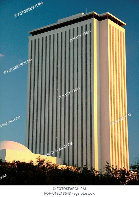Tallahassee, FL, Florida, New State Capitol, State House a 22-story tower