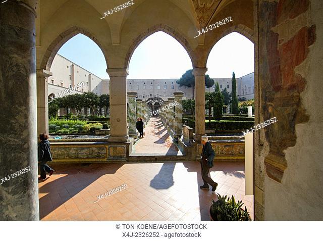garden within santa Chiara at via santa chiara