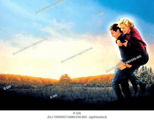 Sep 07, 1999; Hollywood, CA, USA; CHARLIZE THERON as Candy Kendall and TOBEY MAGUIRE as Homer Wells in the romantic drama 'Cider House Rules' directed by Lasse...