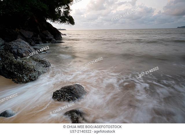 Pasir Panjang Long Beach, Sarawak, Malaysia