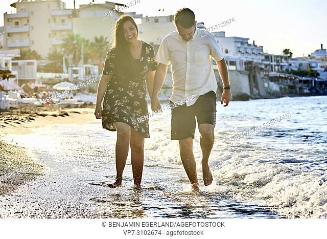 Greece, Crete, Hersonissos, couple