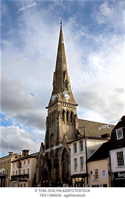 The United Reformed Church, St Ives, Cambridgeshire, England, UK