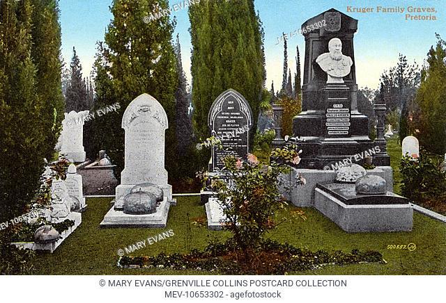 Kruger Family Graves - Pretoria, South Africa