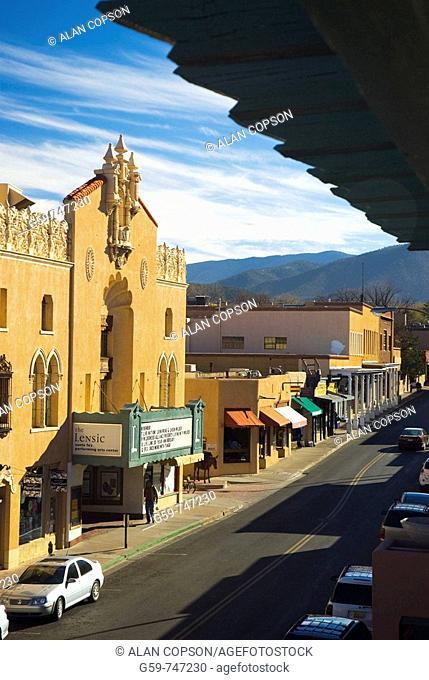 USA  New Mexico  Santa Fe  Lensic Theater