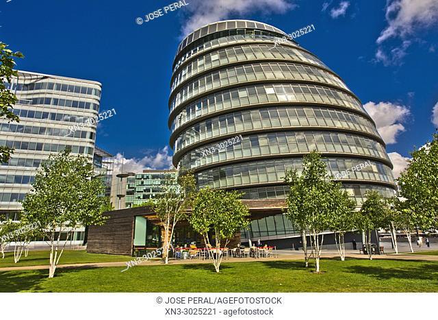 London City Hall, City Hall, More London, Riverside Southwark, London, England, UK, United Kingdom, Europe