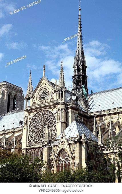 Notre Dame church, Paris, France