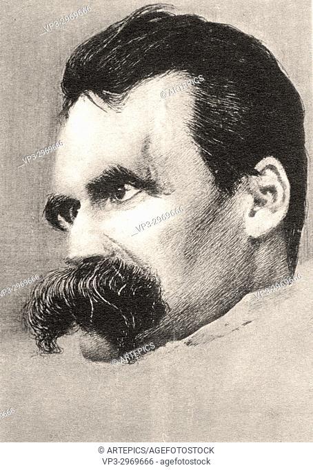 Friedrich Wilhelm Nietzsche - German philospher and writer