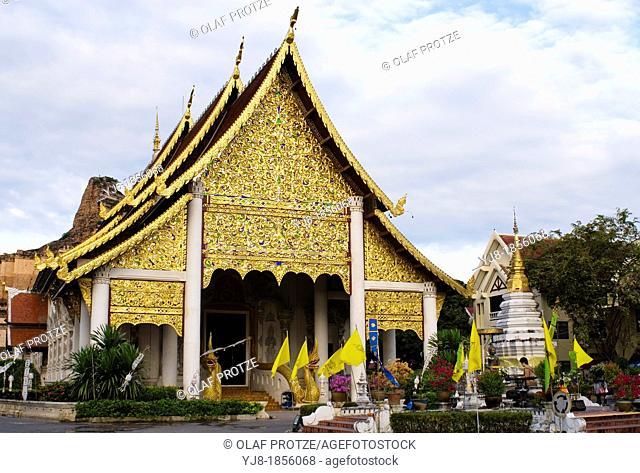 Wat Chedi Luang, Chiang Mai, Northern Thailand