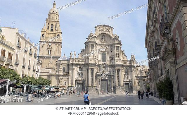 Murcia Cathedral, City of Murcia, Spain