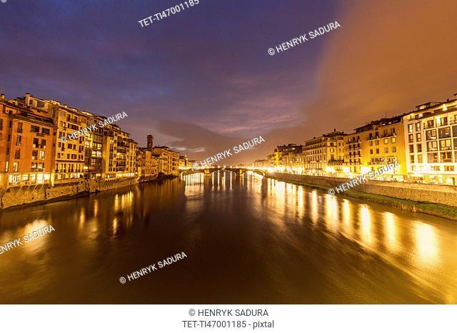 Architecture along Arno River