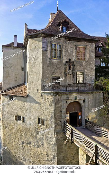 The Old Castle of Meersburg at Lake Constance, Germany