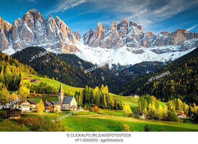 Val di Funes, Trentino Alto Adige, Italy