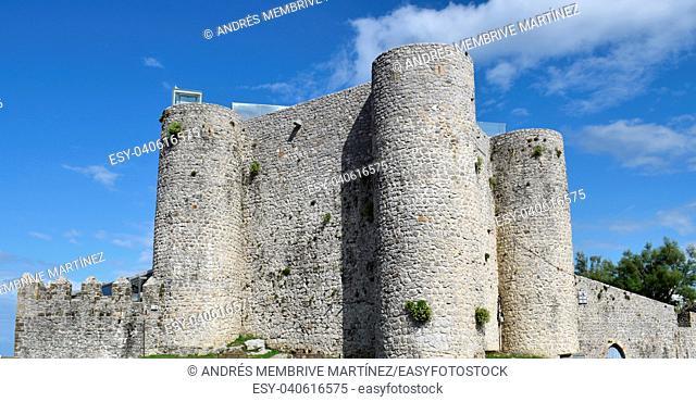 Castle of Santa Ana Castro Urdiales Cantebria Spain