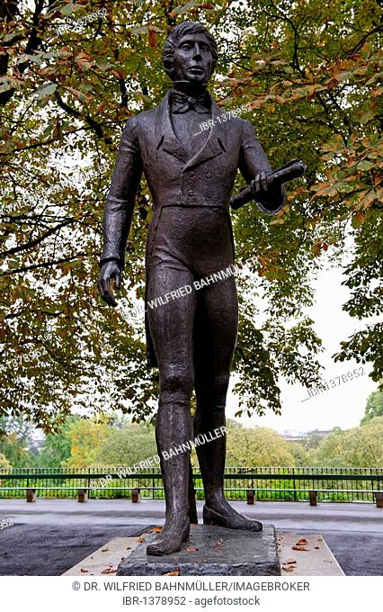 Charles Pictet de Rochemont memorial, 1755-1824, statesman and diplomat, Geneva, Canton of Geneva, Switzerland, Europe