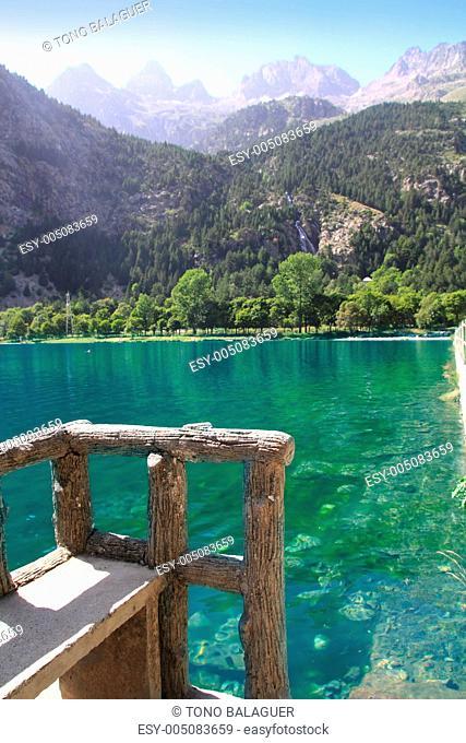 Panticosa balneary lake Pyrenees Huesca