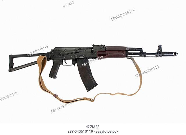 kalashnikov rifle aks 74, Stock Photo, Picture And Low