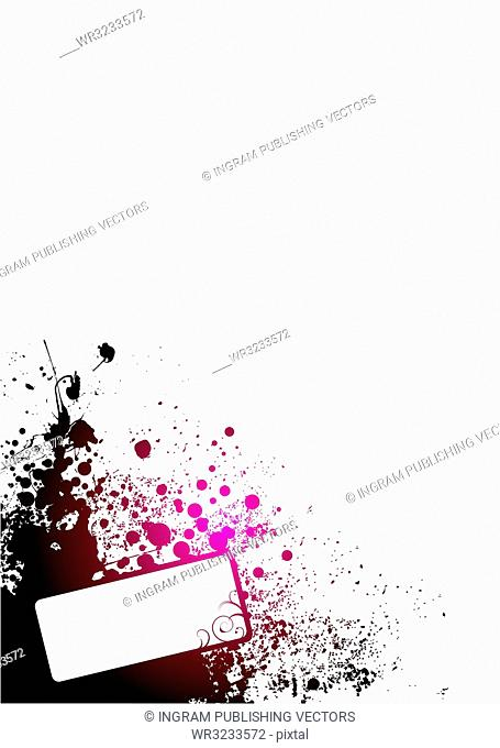 abstract red and white background with room to add your own text