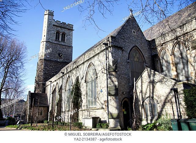 St-Mary-at-Lambeth Church in London UK