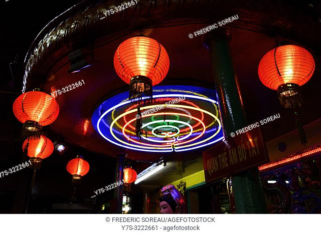 A Taoist temple in Ho Chi Minh City,Vietnam,South East Asia