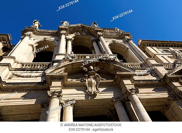 Basilica Santa Maria Maggiore. Rome, Italy