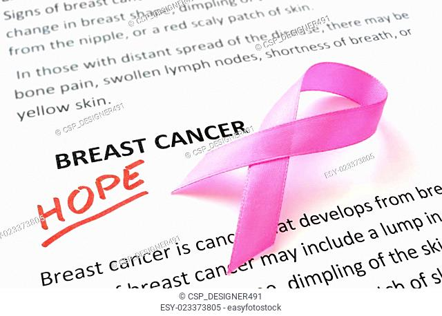 breast cancer concept