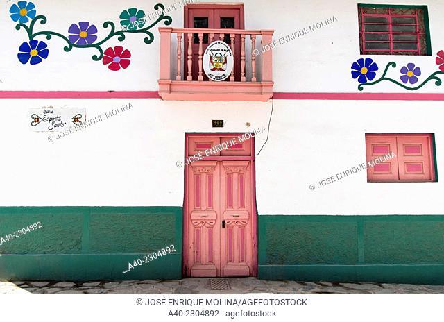 Antioquía village.Huarochiri.Lima.Perú