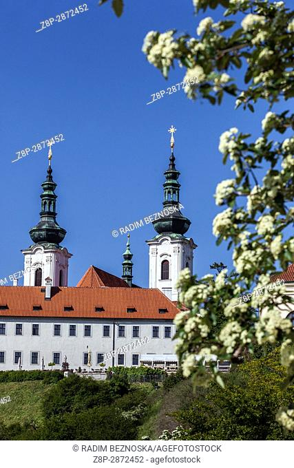 Strahov Monastery, Spring, Prague, Czech Republic, Europe