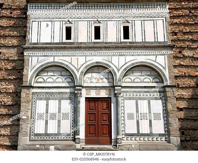antique facade