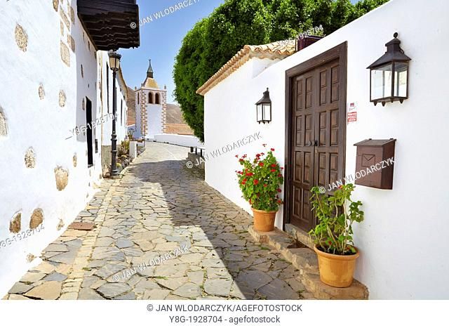 Fuerteventura Island, Betancuria - the former island capital city, Old Town, Canary Islands, Spain